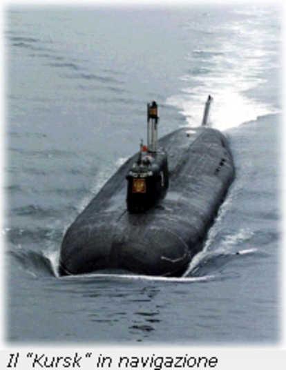 Anni fà la misteriosa tragedia del sottomarino kursk
