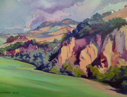Il paesaggio agricolo marchigiano nella pittura di Sguerrini ...