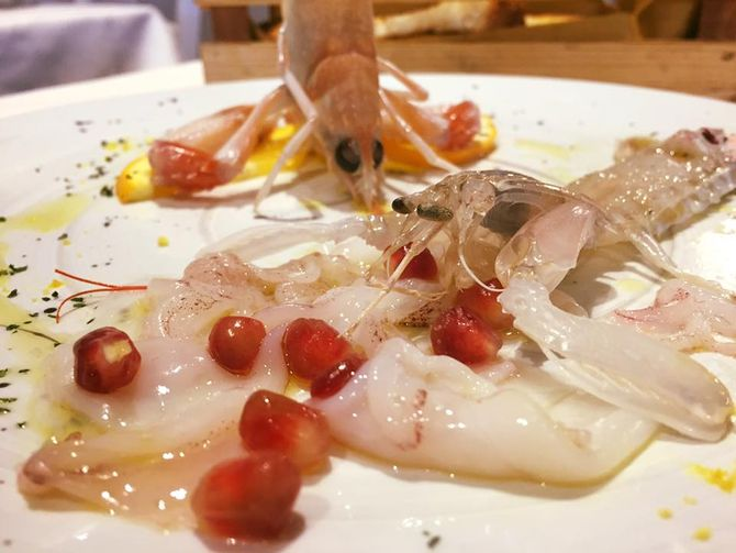 Venerd 13 gennaio crudi bollicine al ristorante gusto for Cicoria arredamenti